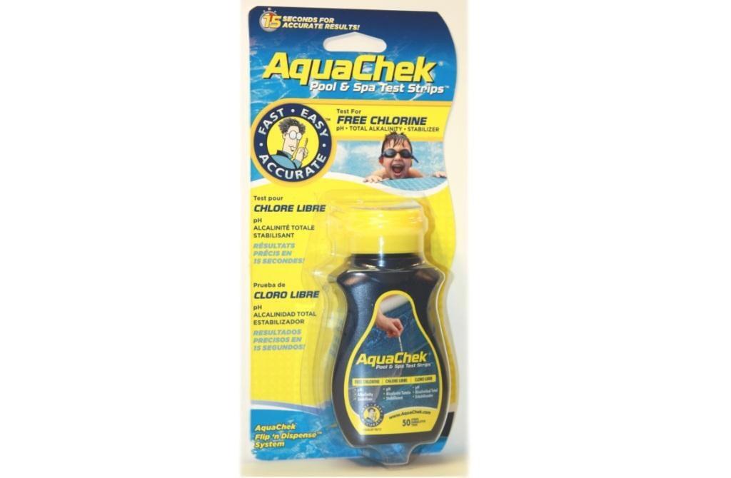 Hanscraft Pásky testovací AquaChek 4v1 Yellow (50ks) - 11305022