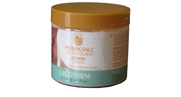 Peelingová sůl 0,5 kg - citron