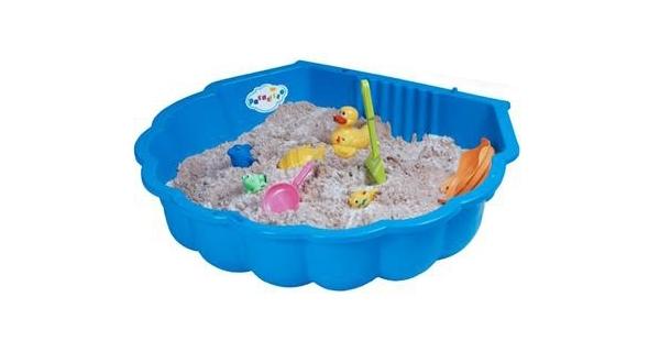 Pískoviště/bazének - mušle - modré