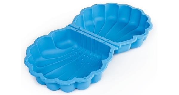 Pískoviště / bazének Mušle s krytem - modré