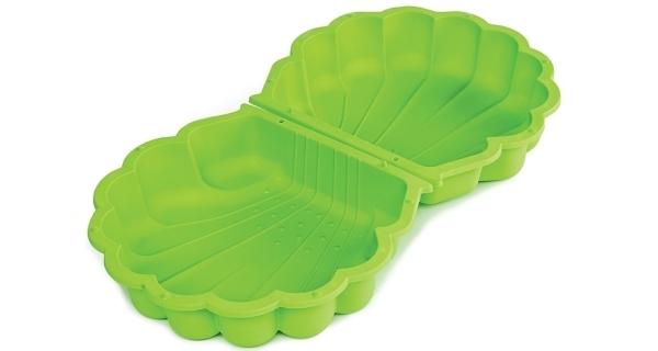 Pískoviště/bazének - mušle s krytem - zelené