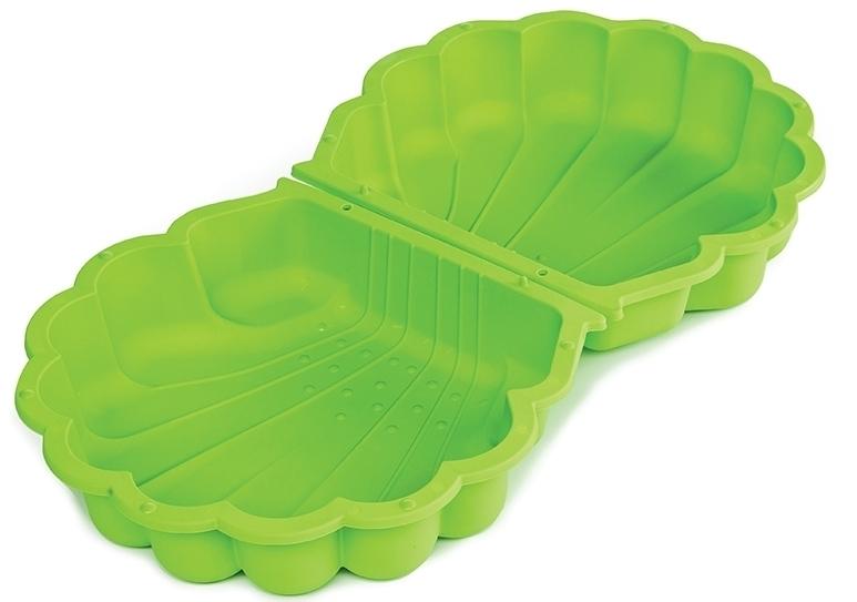 Marimex Pískoviště/bazének - mušle s krytem - zelené - 11640398