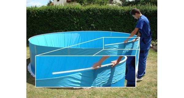 Plastová lišta pro bazény Orlando