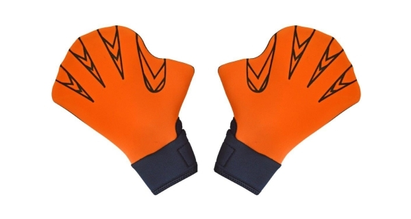 Plavecké rukavice na aquaerobic - velikost L