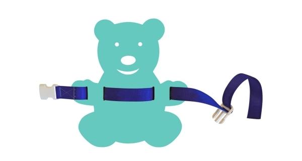 Plavecký pás pro děti - 85 cm - medvídek