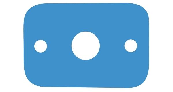 Plovací deska - modrá