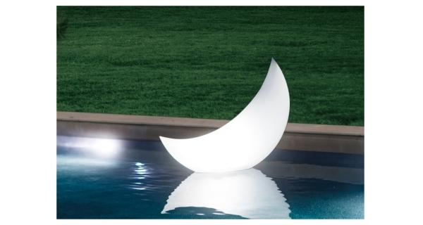 Plovoucí LED světlo - půlměsíc