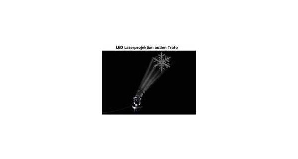Projektor LED - vločka - dosah 20 m