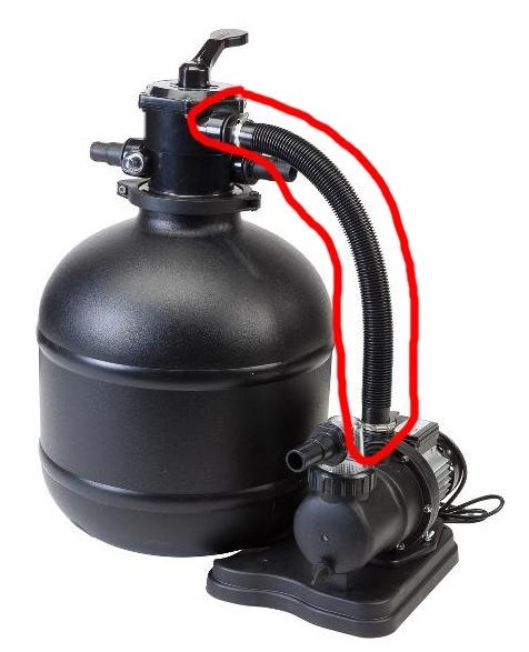 Marimex Propojovací hadice (54 cm) k filtraci BlackStar 7 - 10604249