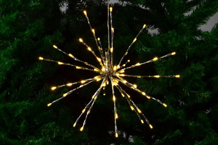 Prskavka - 80 LED - 40 cm - teplá bílá - 18000097
