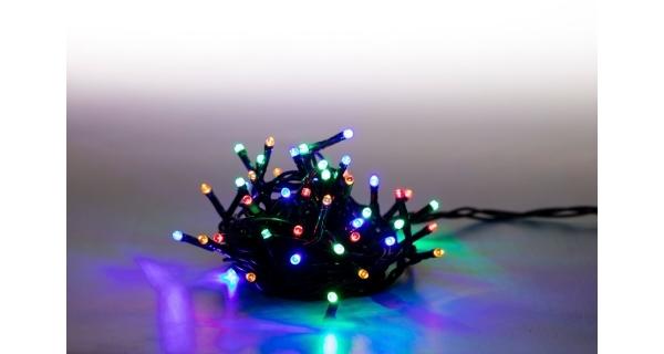 Řetěz světelný  200 LED - barevná - mód