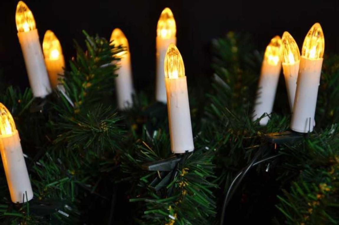 Řetěz svíčky 20 LED - teplá bílá - 18000418