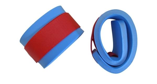 Rukávky nadlehčovací na suchý zip - pár - modrá