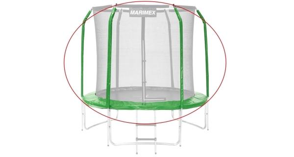 Sada krytu pružin a rukávů pro trampolínu 244 cm - zelená