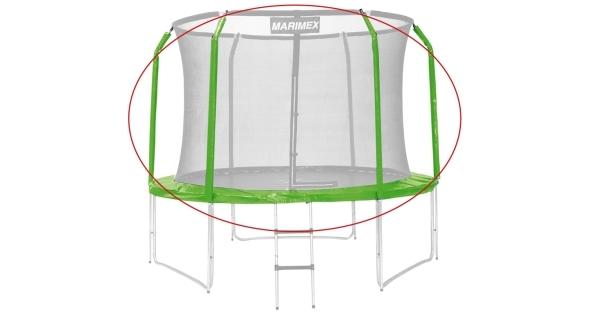 Sada krytu pružin a rukávů pro trampolínu 305 cm - zelená