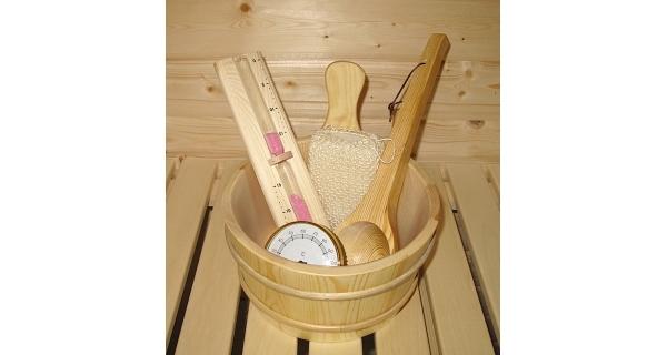 Sada příslušenství k finským saunám