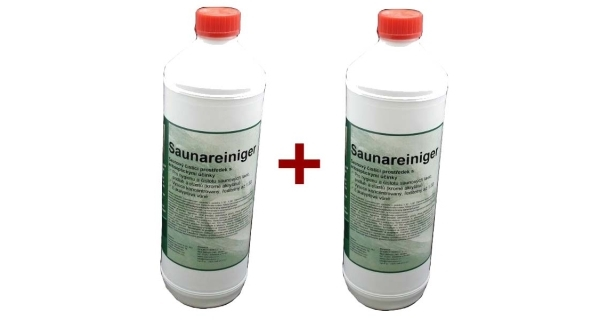 Saunareiniger - přípravek k čištění saun 1 l - sada 2 ks