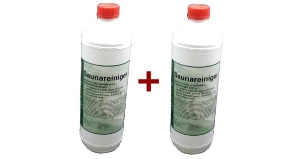 Saunareiniger - přípravek k čištění saun 1l - sada 2 ks