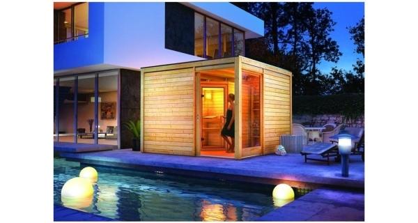 Saunový domek Cubus Premium + sauna Mia Karibu