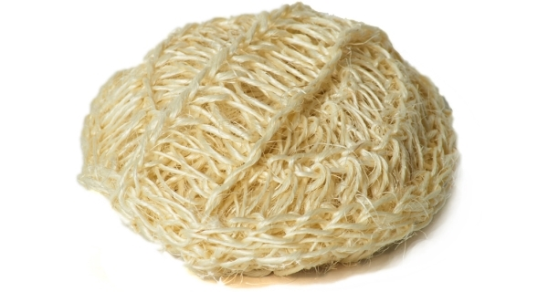 Sisalová kulatá houba