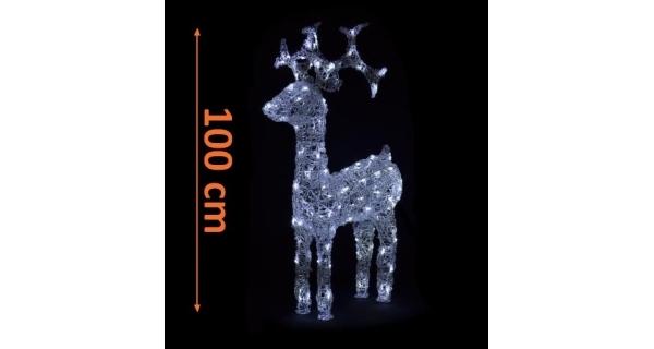 Sob LED - 100 cm - bílá
