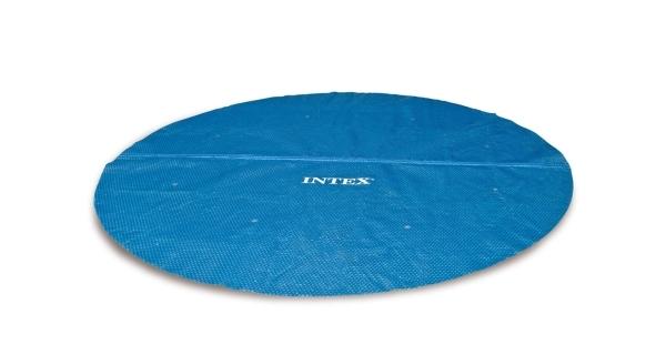Solární plachta modrá pro bazény s Ø hladiny 4,57 m