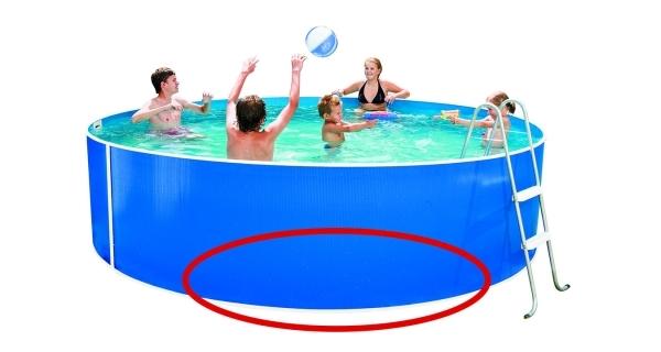 Stěna bazénu Orlando 3,66x0,91 m