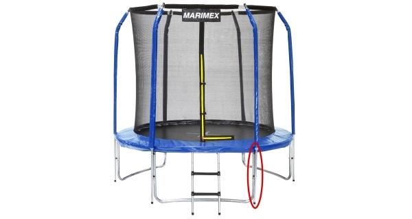 Stojna ochranné sítě dolní pro trampolíny Marimex 244 cm