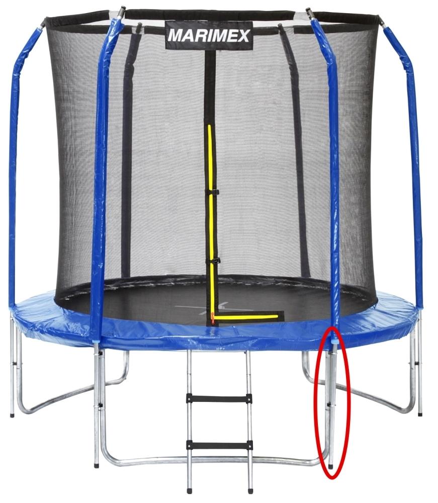 Marimex Stojna ochranné sítě dolní pro trampolíny Marimex 244 cm - 19000556