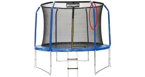 Stojna ochranné sítě (horní část) - pro trampolíny Marimex 305 cm