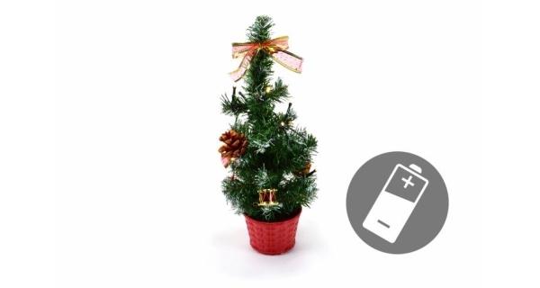 Stromeček 10 LED - studená bílá