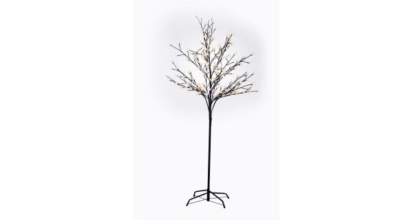 Stromek s květy 200 LED - teplá bílá
