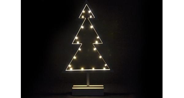 Stromek vánoční stojící - 38 cm - 20 LED