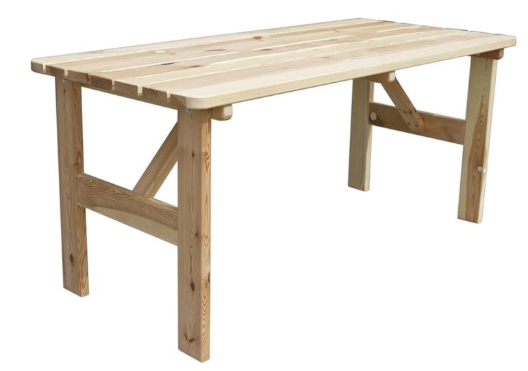 Stůl dřevěný Viking 180 cm - 11640201