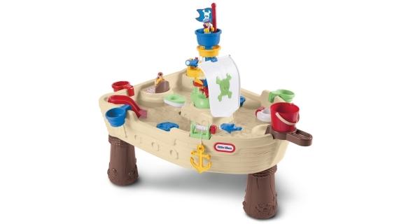 Stůl vodní - pirátská loď