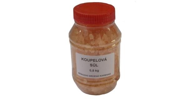 Sůl drcená v dóze 0,5 kg - natural