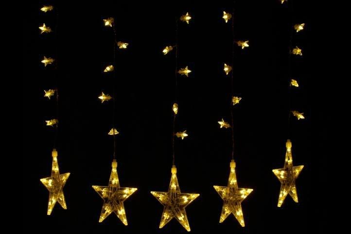 Marimex Světelné hvězdy 100 LED - teplá bílá - 18000046