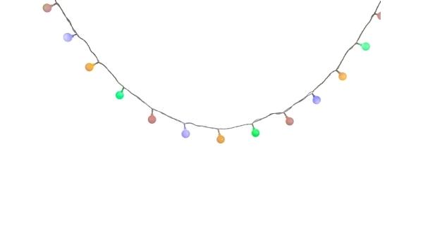Světelný párty mini řetěz 180 LED - barevná