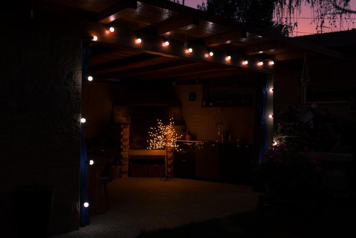 Marimex řetěz 20 ks párty bílé žárovky 18000475