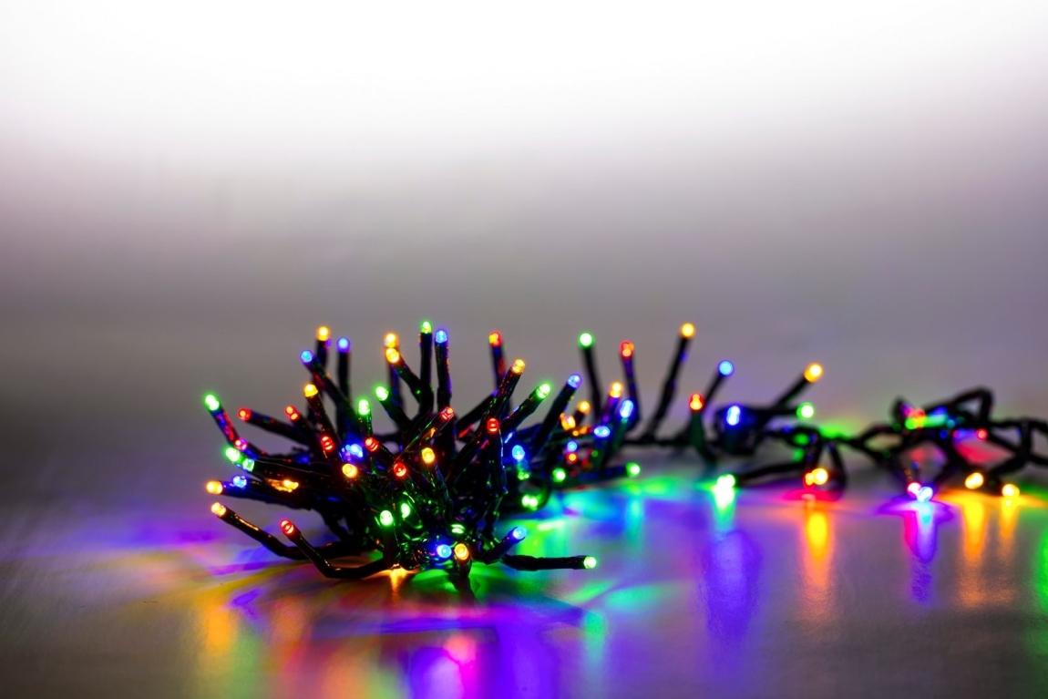 MARIMEX Řetěz světelný 200 LED dvojitý 2 m - barevná, 18000080