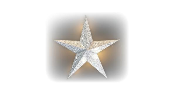 Svítící hvězda 1 LED