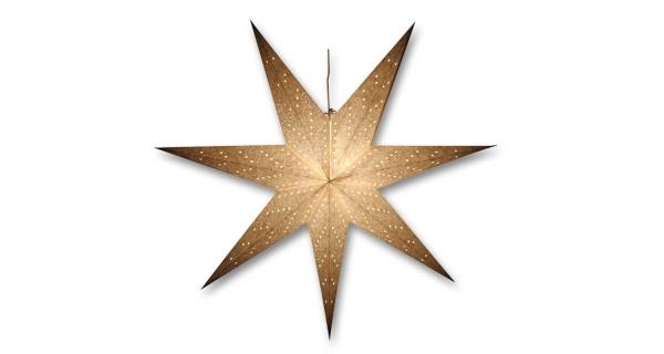 Svítící hvězda - decentní vzor