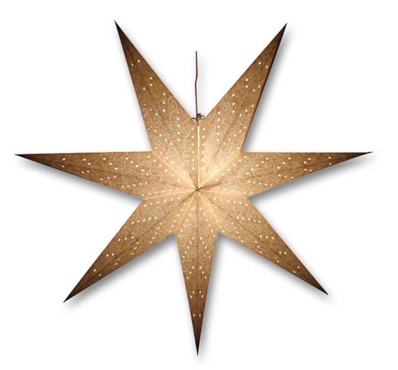Svítící hvězda - decentní vzor - 18000330