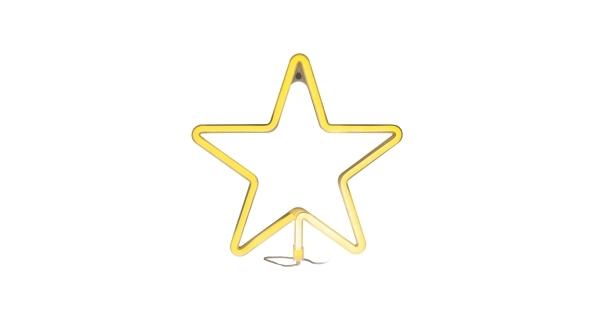 Svítící hvězda na okno 120 LED