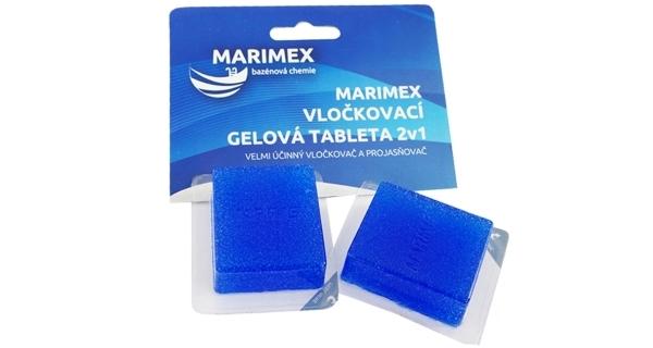Tableta gelová vločkovací 2v1 Marimex