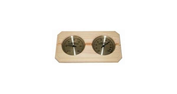 teploměr/vlhkoměr do sauny - obdélník