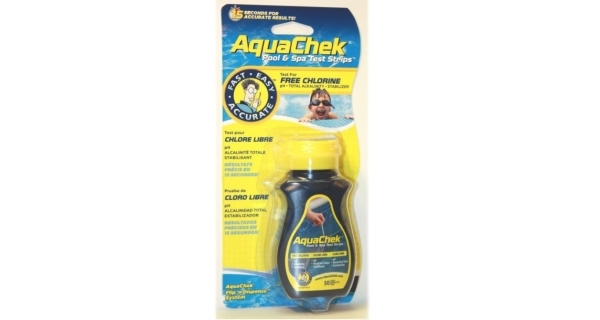 Testovací pásky AquaChek 4v1 Yellow, 50 ks