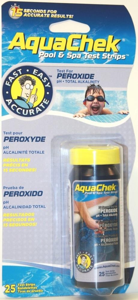 AQUACHEK testovací proužky 3v1 peroxid (25 ks)