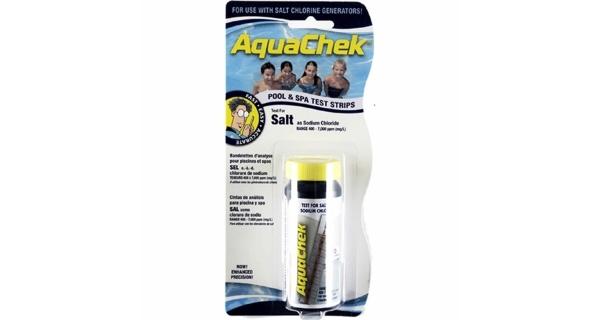 Testovací pásky AquaChek Salt, 10 ks