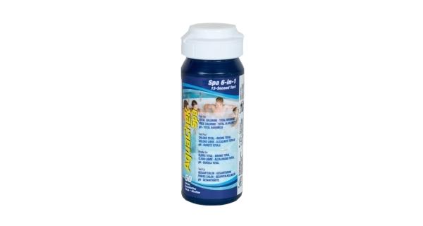 Testovací pásky AquaChek Spa 6v1, 50 ks
